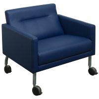 Steelcase Brayton Sidewalk Used Leather Lounge Chair ...