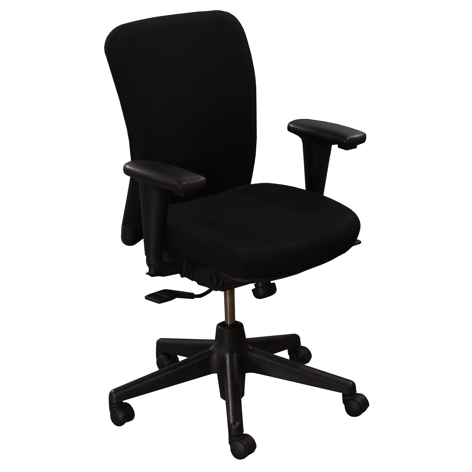 Looking For Chairs Haworth Look Used Task Chair Black National Office