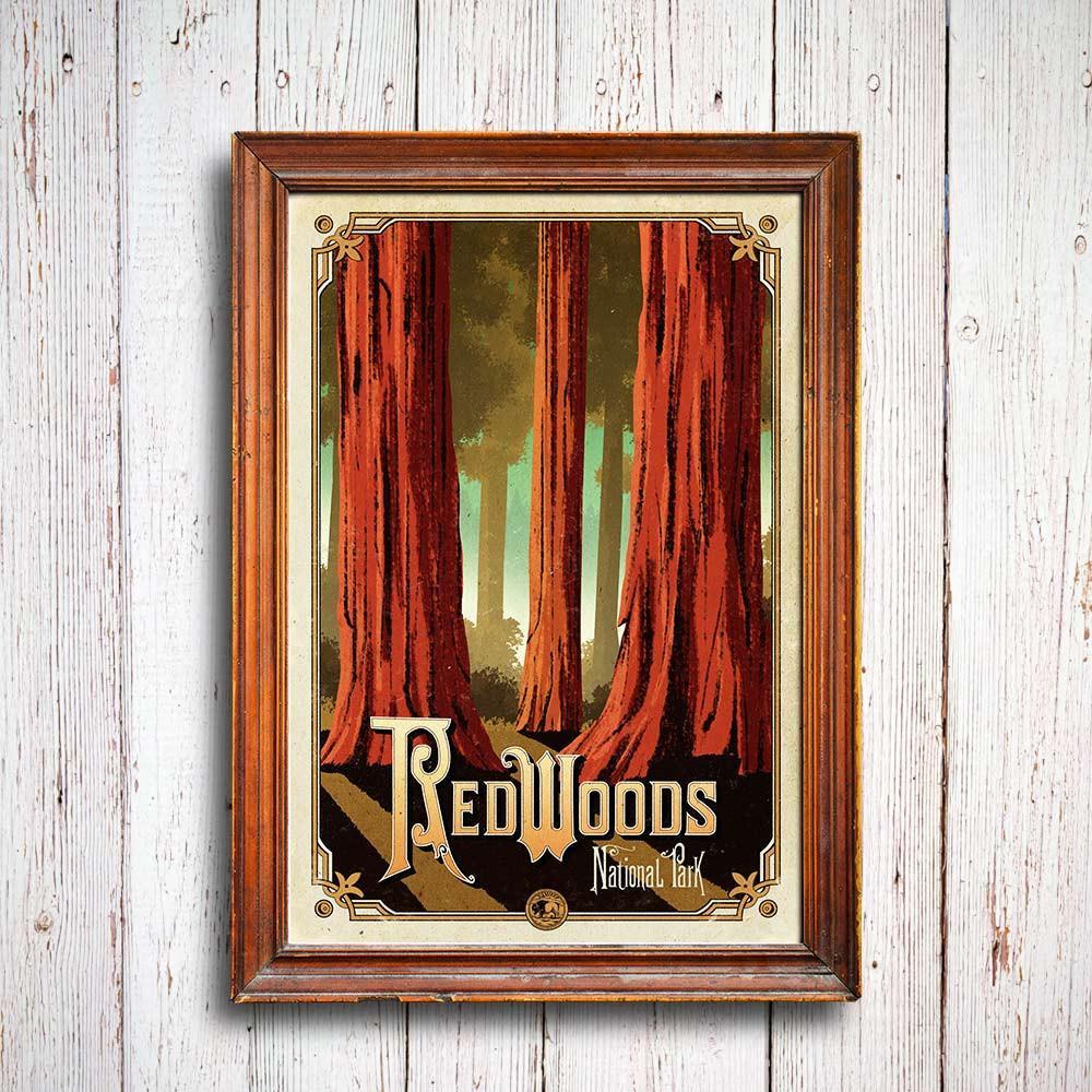 redwoods_poster_3_1024x1024_national_park_quest