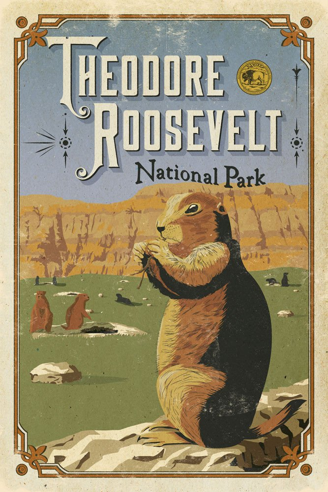 Theodore_Roosevelt_poster_1024x1024_national_park_quest