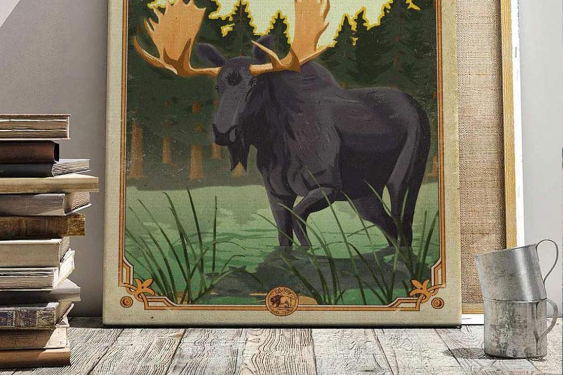 centennial_posters_national_park_quest_process_moose_cover_isle_royale