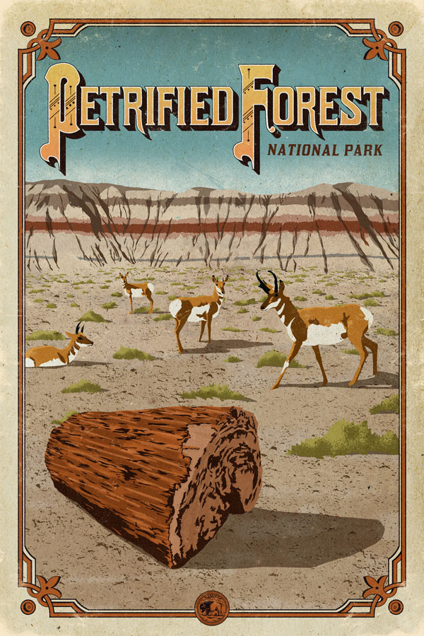 Petrified_Forest_POSTER_national_park_quest