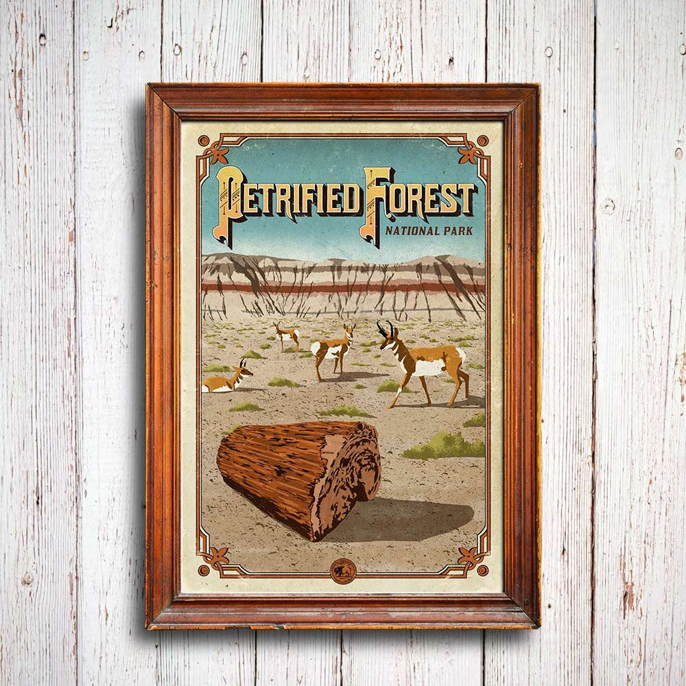 Petrified_Forest_poster_3_1024x1024_national_park_quest