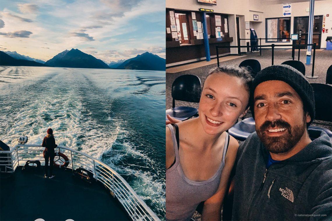 Juneau Ferry Camping