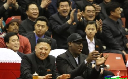Dennis Rodman Explains to North Korean Officials Why They Should Nuke the U.S.