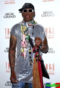 American High Fashion Queen Dennis Rodman Expected to Defect to Commie North Korea in August