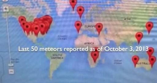 50 Meteor Strikes