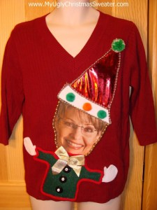 Nothing says Christmas like this cheerful sweater. Liberals would probably have this outlawed under ObamaCare.