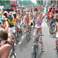 "Portland, OR's World Naked Bike Ride Outlawed - Participants To Be ""Arrested On The Spot"""