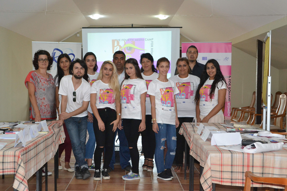 The fourth BUVERO camp started National Roma Centrum