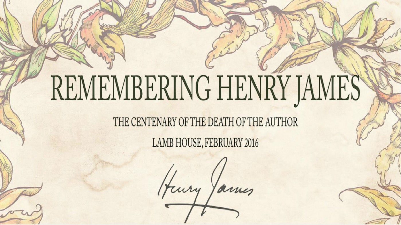 Henry James Remembering Henry James Life At Lamb House National Trust
