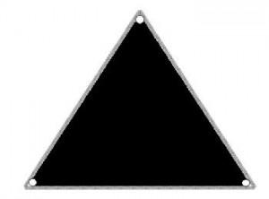 UFO diagramNC Faetville Triangle