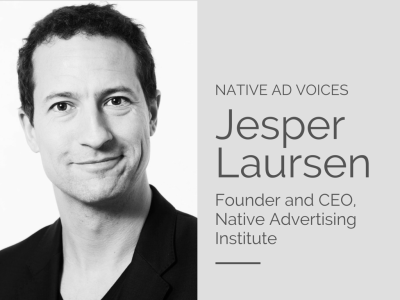native ad voices - Jesper Laursen