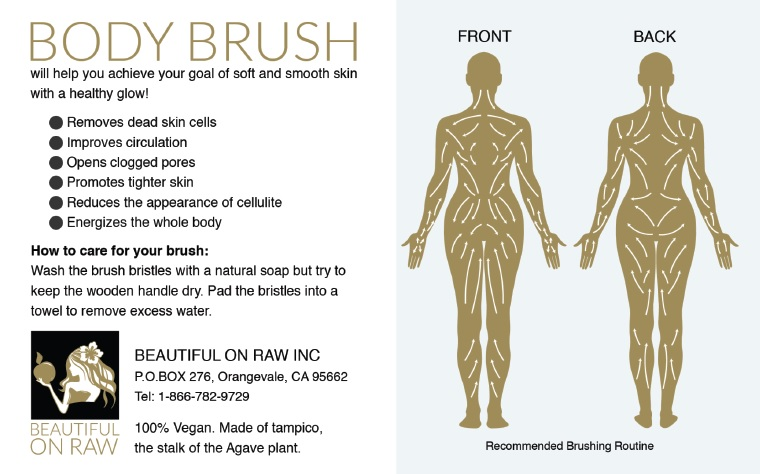 How to Dry Skin Brush ? Spirit In The Wind 2