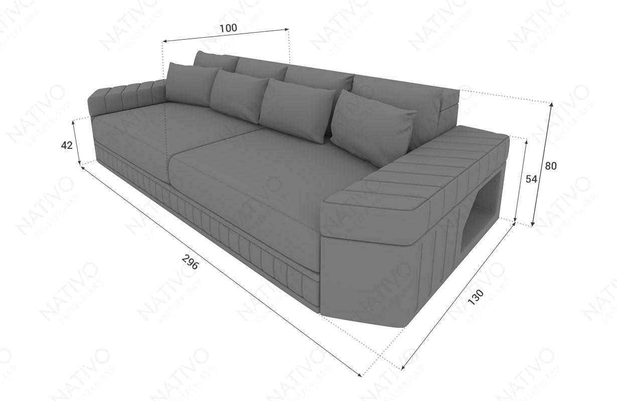 ledersofa big sofa skyline bei der nativo mobel schweiz filiale kaufen