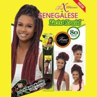 Femi Collection Senegalese Twist (Marley) Braid  Natural ...
