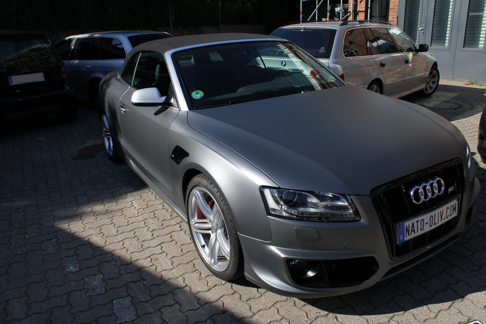 Autolack Anthrazit Metallic Matt Audi A5 Cabrio In Anthrazit Matt Metallic | Nato-oliv.com