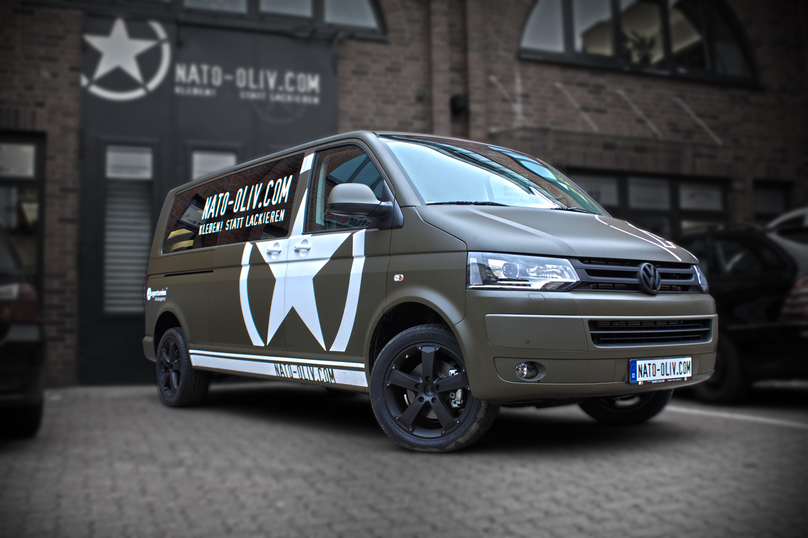 Www Car Möbel Vw T5 In Nato Oliv | Nato-oliv.com