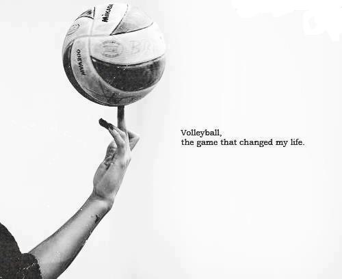 Volleyball Wallpaper Quotes Volleyball The Game That Changed My Life Natsthewayitis