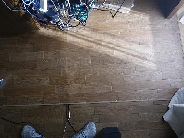 パソコン配線のスッキリ整理1