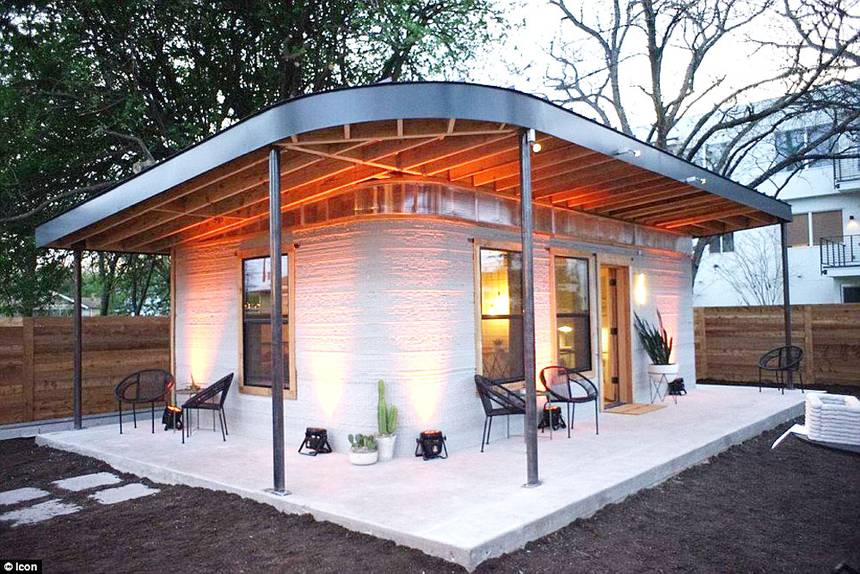 Container Haus Architekt 3d Printed House For $4,000 In Less Than 24 Hours, First