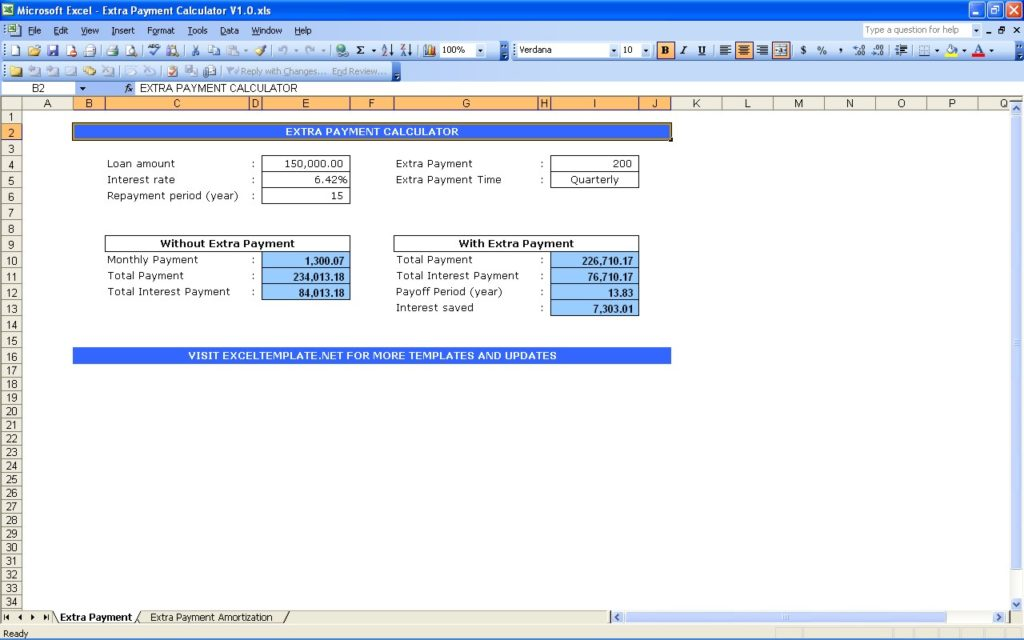 calculator debt reduction spreadsheet for excel and free debt
