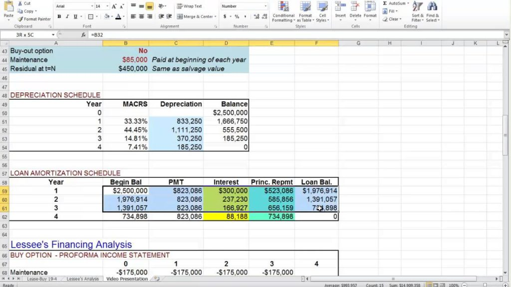 Lease Payment Calculator Excel Template Natural Buff Dog - lease payment calculator