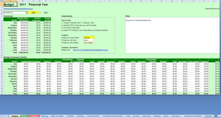 budget online tool roho4senses