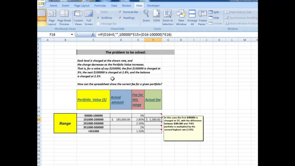 real estate commission calculator excel