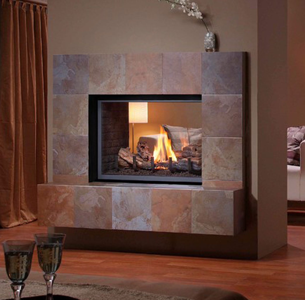 Spark Fireplaces Montigo H38df St See Through Fireplace Natural Choice