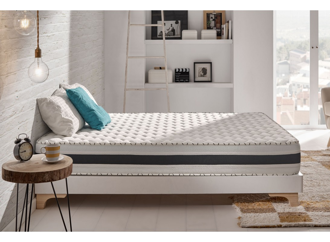 Surmatelas Memoire De Forme 80x190 Vera Memory Mattress With Viscotex Memory Foam