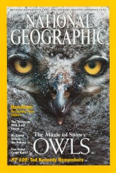 Cover of 2002 December National Geographic Snow Owls