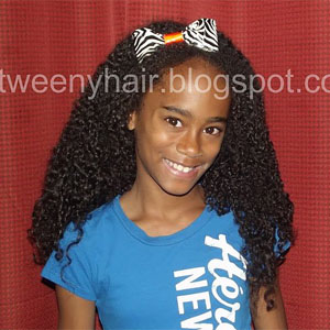 hairstyles for teens wash and go