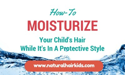 how to moisturize african american child's hair
