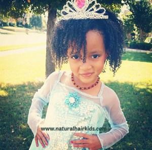 natural hair princess