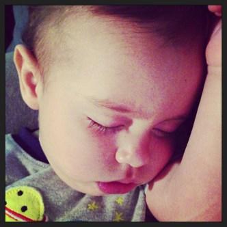 Jude Sleeping