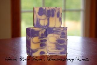 Shoals Creek Farm Blackberry Vanilla Soap