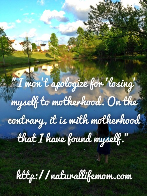 A Little Bit of All of It: Motherhood