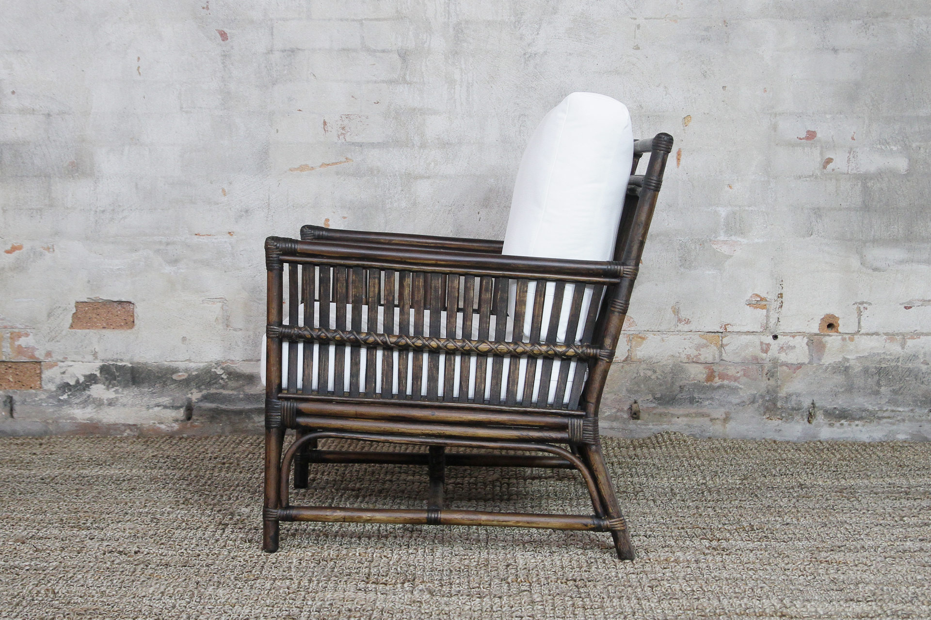 Arm Chair Side Tribeca Armchair Side Ls Naturally Cane Rattan And