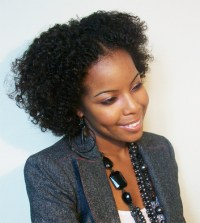 Braid out on transitioning hair by classCie