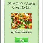 ebook cover how to go vegan overnight