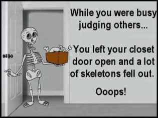 what happens when you Judging others