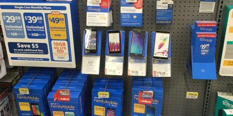 Walmart Familu Mobile Store Display | Naturally Stellar