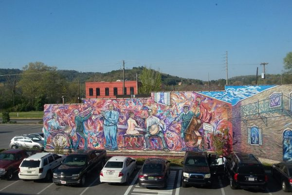 Gorgeous Mural Behind Cultural Arts Center - Gadsden, AL