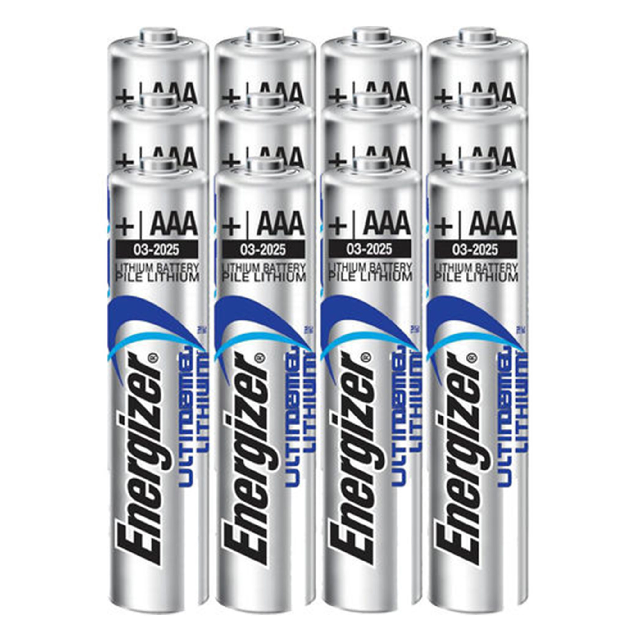 Aaa Baterien 12 Pack Of Aaa Energizer Ultimate Lithium Batteries For Use With The Alpha Stimaid