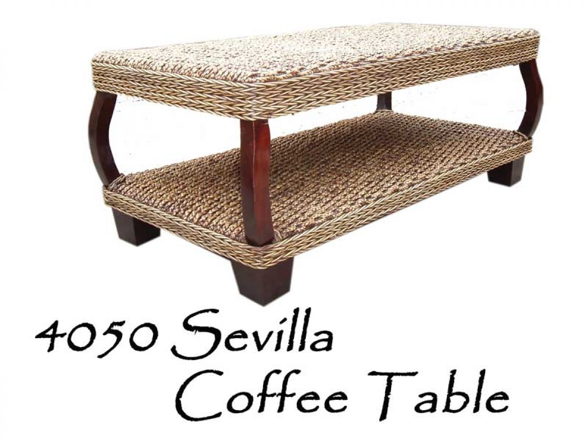 Sevilla Cane Coffee Table Natural Rattan Furniture Wholesale Supplier Rattan Kids Furniture