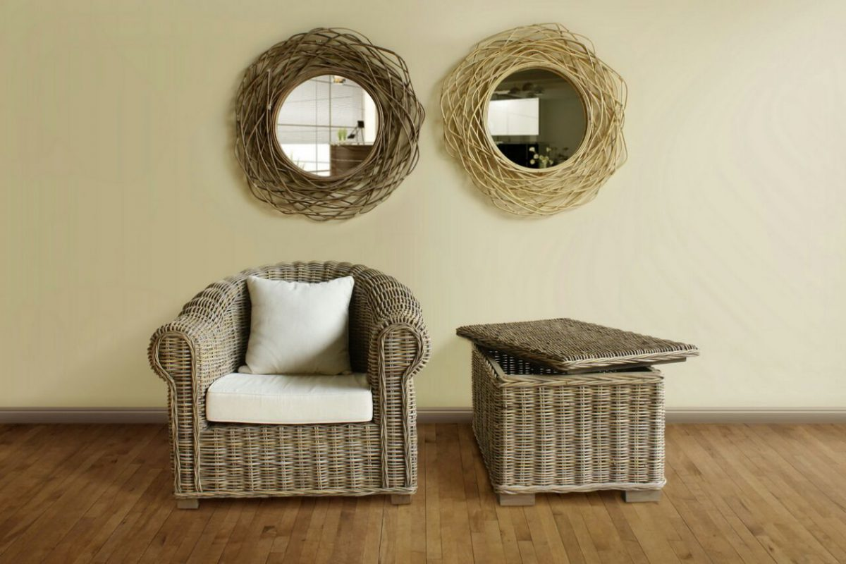Wholesale Suppliers Indonesia Rattan Kubu Grey For Your House And Garden Natural Rattan