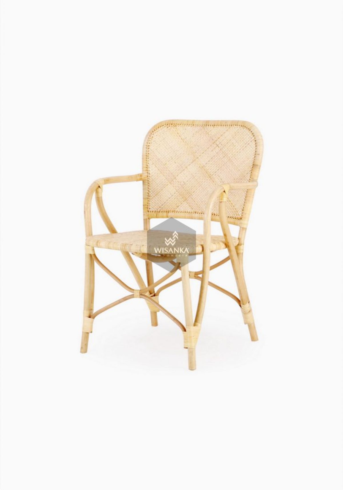 Vivi Cane Dining Chair Natural Rattan Furniture Wholesale Supplier Rattan Kids Furniture