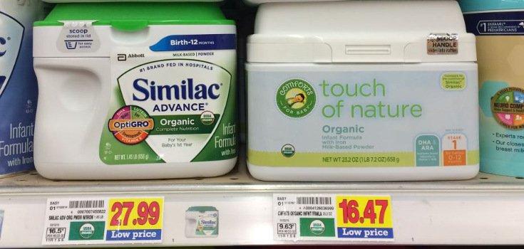 Class Action Suit: Major 'Organic' Baby Formula Isn't Organic