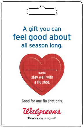 Epidemiologist for CDC Says he Would 'NEVER Give his Pregnant Wife' a Flu Shot Vaccine_Walgreens-Giftcard-290x445